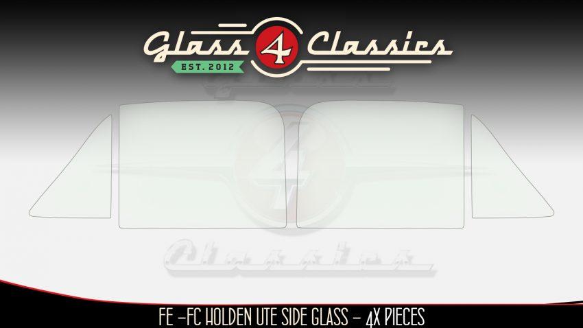 FE - FC Holden Ute Utility side glass