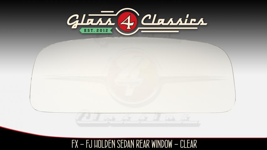 48-215, FX - FJ Holden Sedan back glass