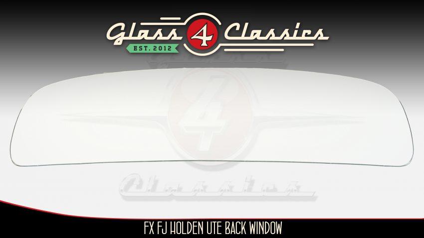 FX FJ Holden Ute back glass