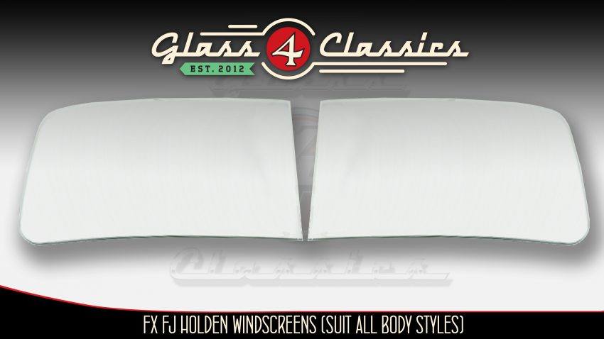 FX FJ Holden Sedan Ute Van Front windscreen Glass 4 Classics