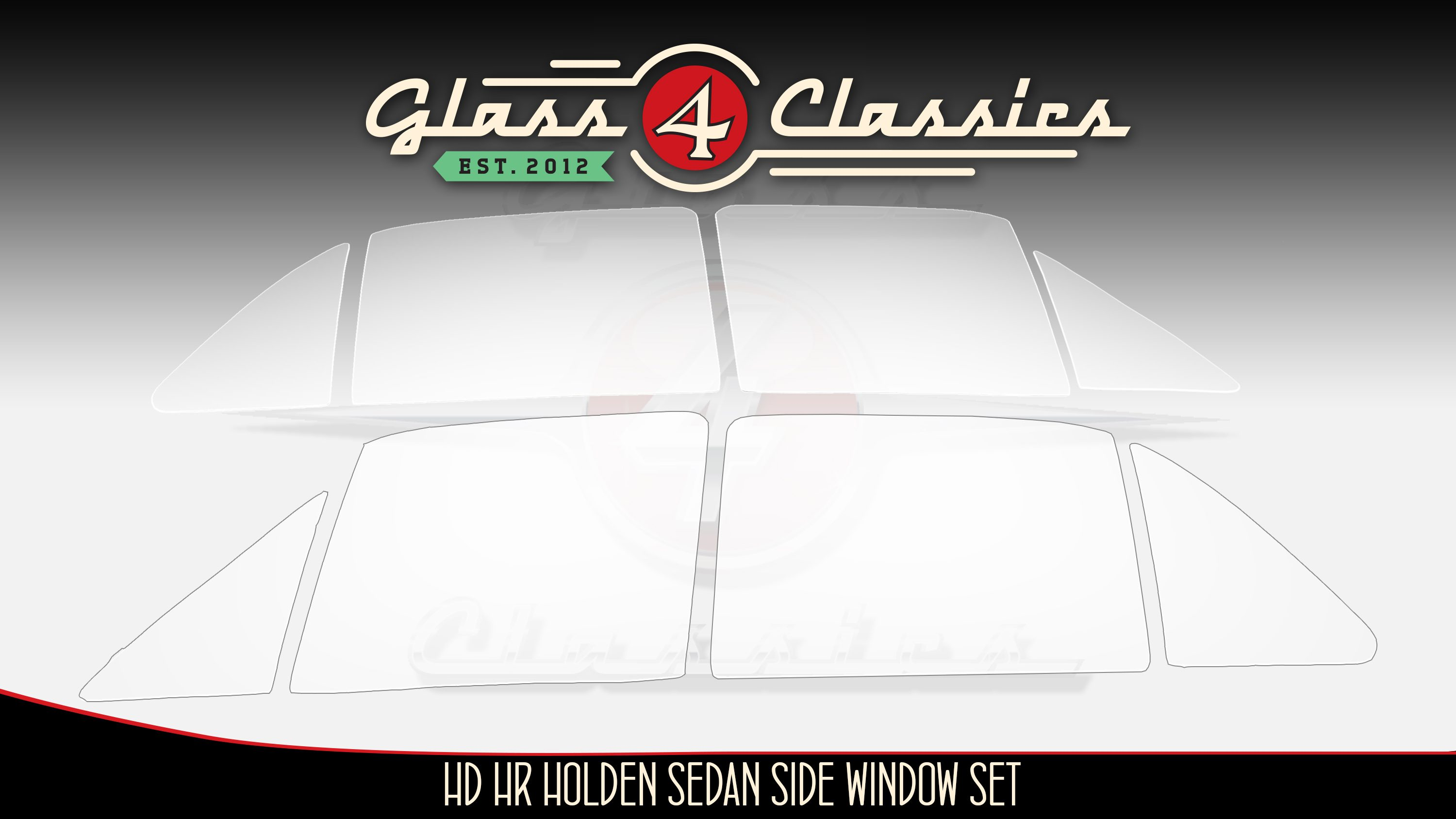 Hd hr holden sedan side windows for All side windows