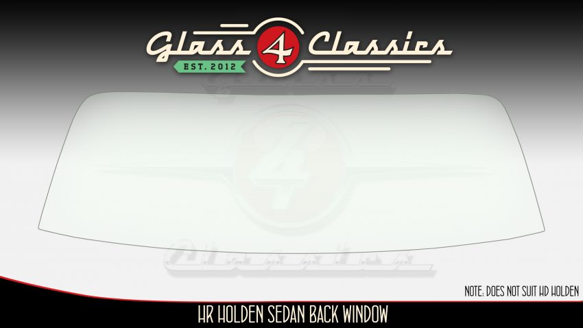 HR Holden sedan back window, glass for classics