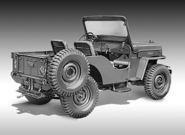 Jeep CJ3A | CJ3B Front Windscreen