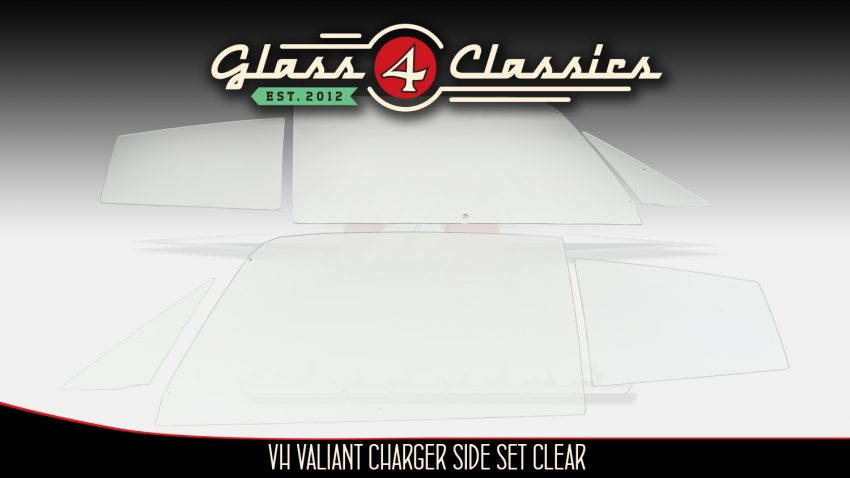 VH Valiant Charger side window set: