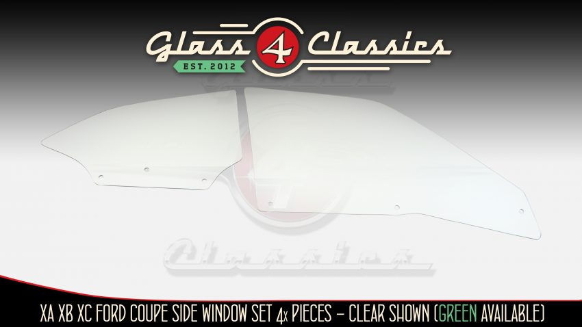 XA XB XC Ford Coupe Side window glass
