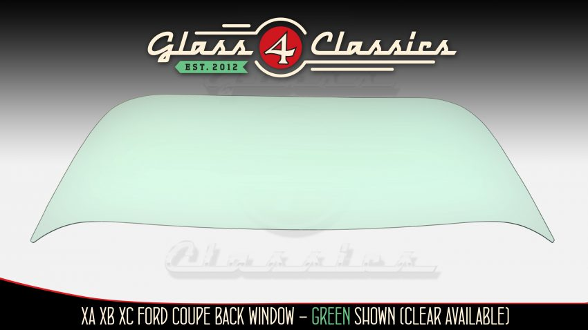 XA XB XC Ford Falcon Coupe back window glass