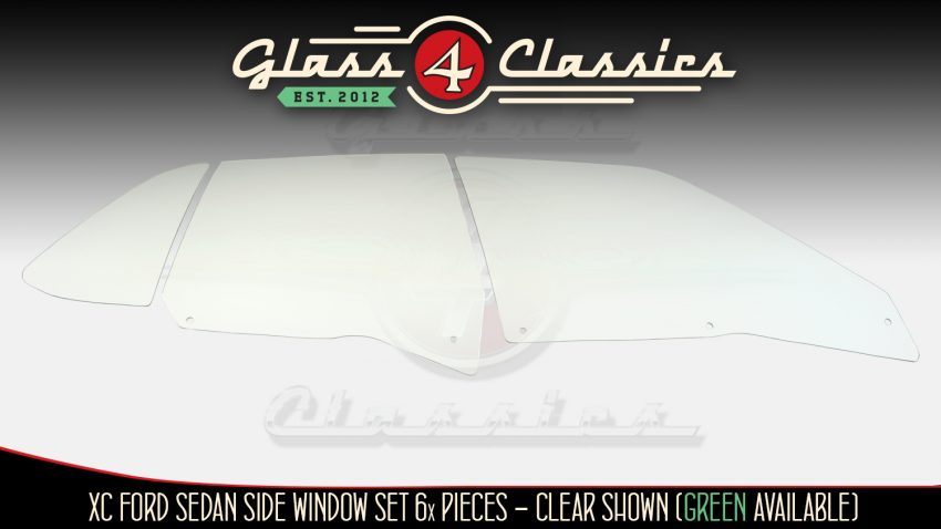 XC Ford Falcon Sedan side window glass