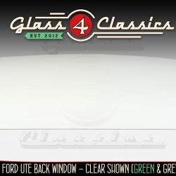 XR XT XW XY Ford Ute Back glass from Glass 4 Classics
