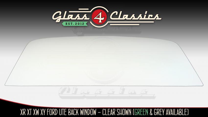 XR XT XW XY Ford Ute Back glass from Glass 4 Classics