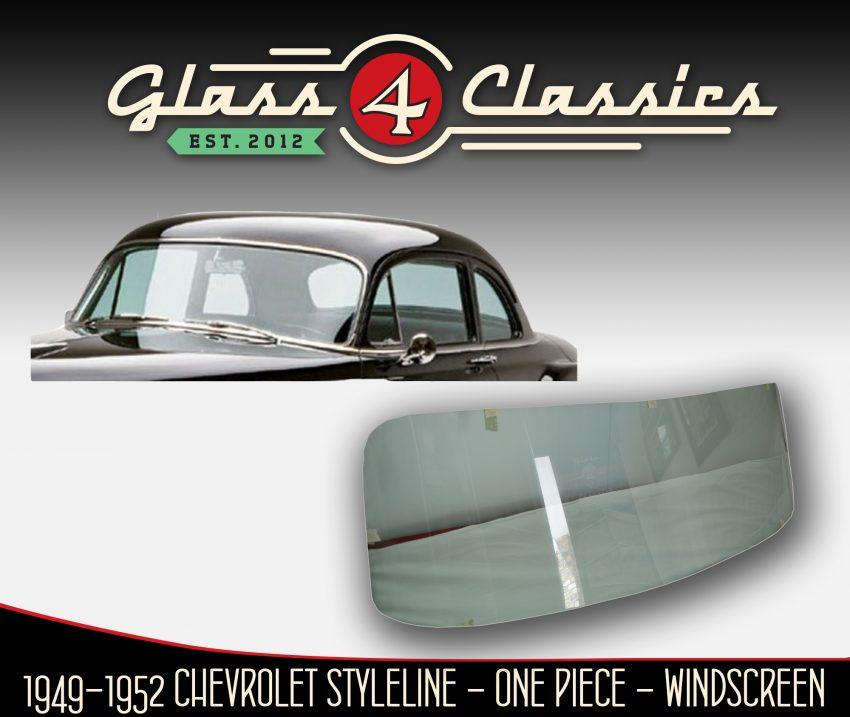 1949 - 1952 Chevrolet One Piece Windscreen