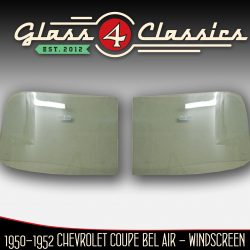 1949 - 1952 Chevrolet Coupe Bel Air & Coupe Convertible windscreen