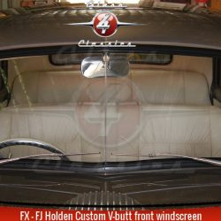 FX FJ Holden Sedan Ute Panel Van Custom V-butt windscreen