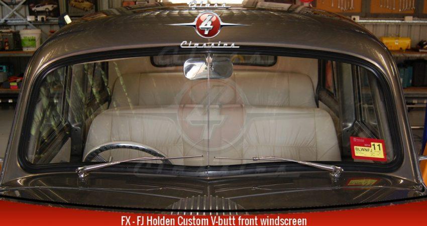 FX FJ Holden Sedan Ute Panel Van Custom V-butt windscreen