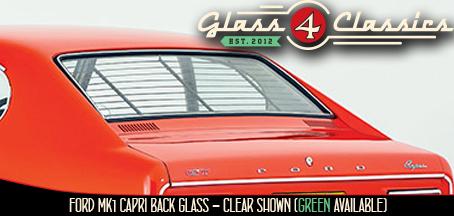 Mk1 Ford Capri Coupe back glass