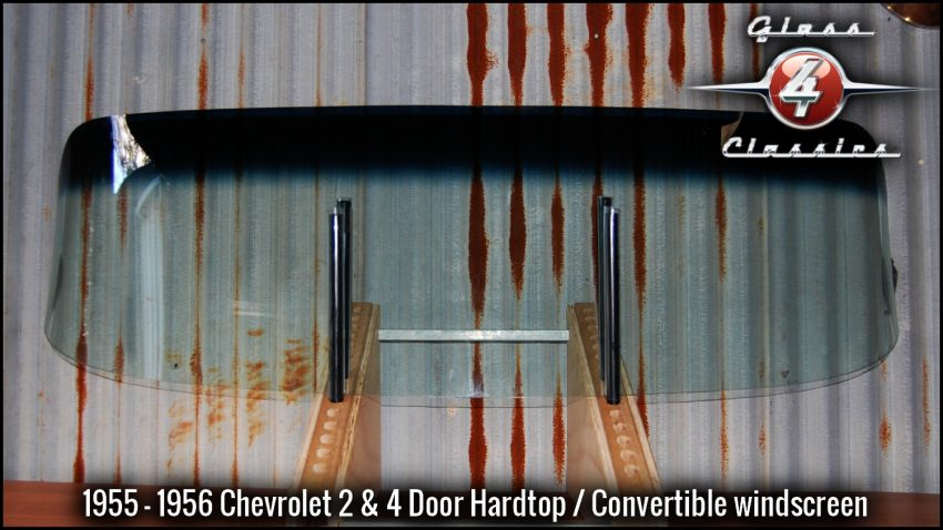 1955 - 1956 Chevrolet Convertible front windscreen
