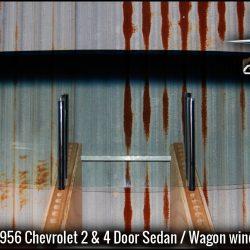 1955 -1956 Chevrolet 2 & 4 Door Sedan front windscreen