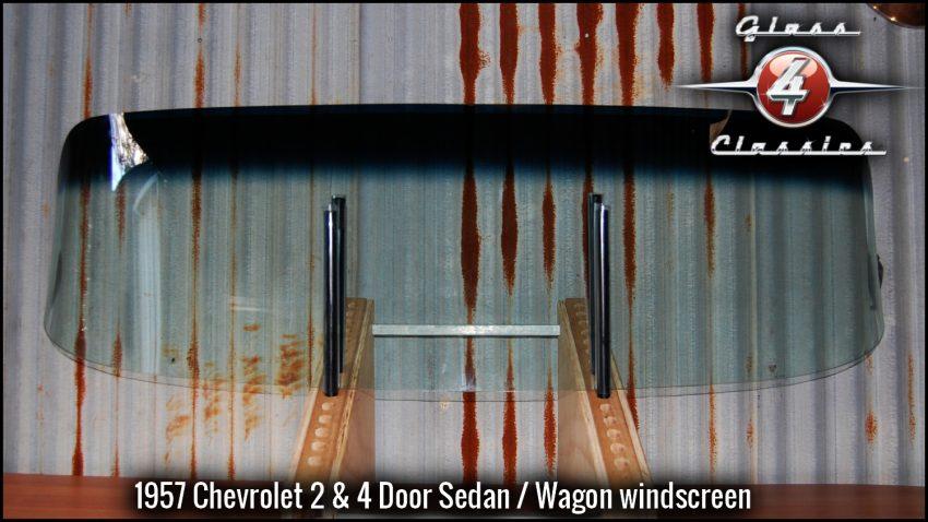 1957 Chevrolet 2 & 4 Door Sedan front windscreen