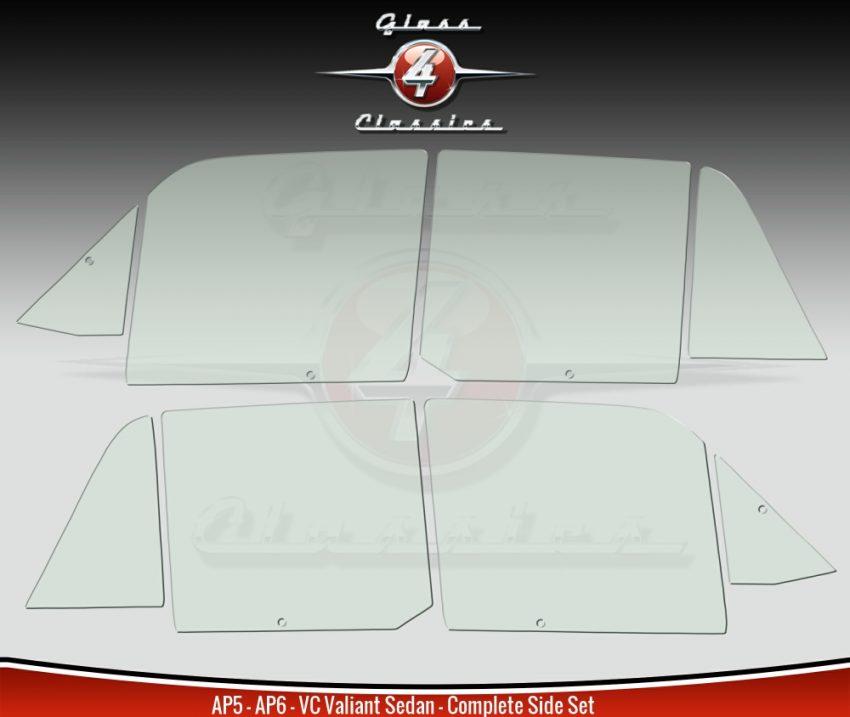 AP5 AP6 VC Valiant Sedan Side Windows