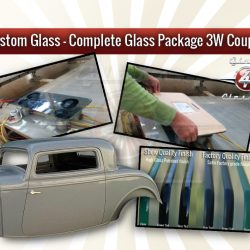 Complete Glass Package - 3W coupe with 1Pc Windscreen