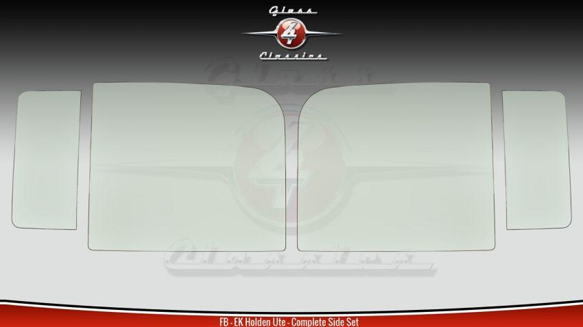 FB - EK Holden Ute & Van All Side Windows