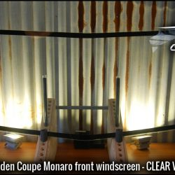 HQ HZ HX Holden coupe Monaro windscreen (Clear w band)