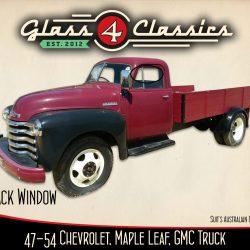 1947-1954 Chevrolet Pickup Truck back glass. (Australian body)