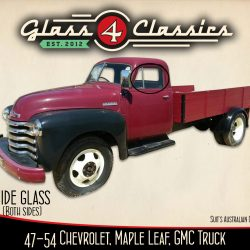 1947 - 1954 Chevrolet Pickup Truck side windows (Australian body)