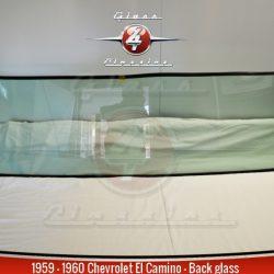 1959, 1960 Chevrolet El Camino Pickup Delivery Back Glass