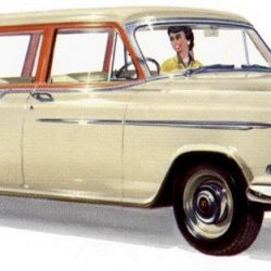 FE - FC Holden Station Wagon Side Windows.