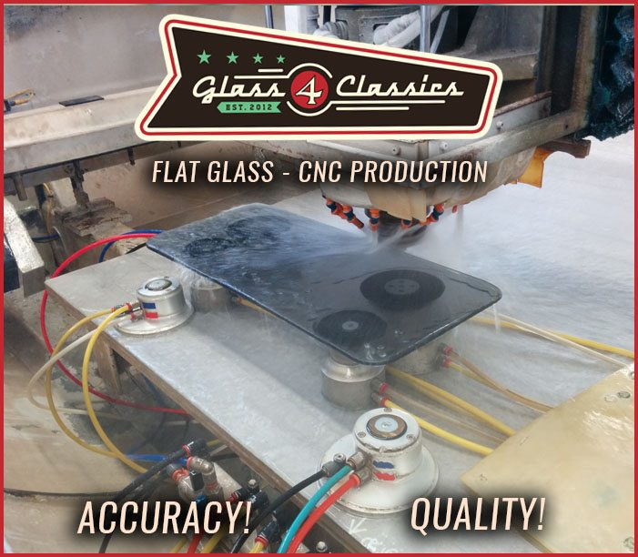 CNC Glass Edgework