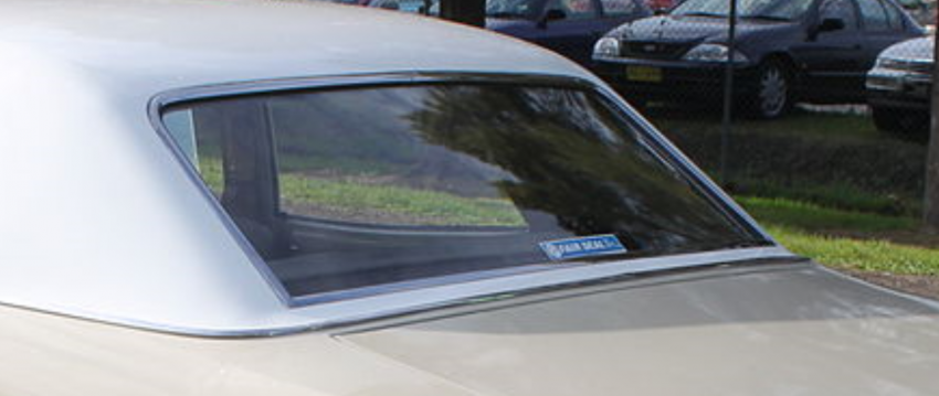 HK Holden Sedan Belmont Kingswood Back window glass