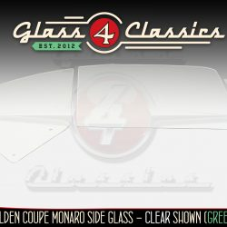 HK HT HG Holden Coupe Monaro side window glass