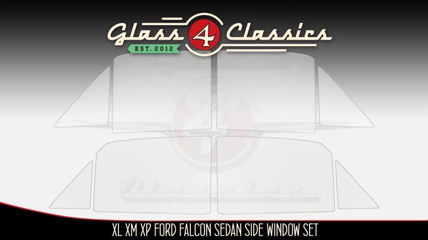 XL XM XP Ford falcon sedan side window glass