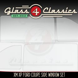 XM XP Ford falcon coupe side window glass