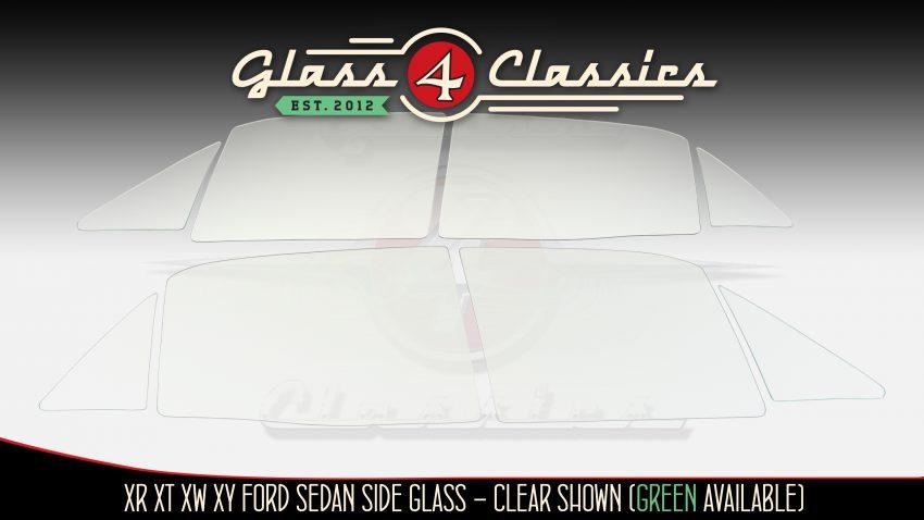 XR XT XW XY Ford Falcon side windows from Glass 4 Classics