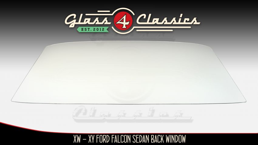 XW XY Ford Falcon Sedan Back Glass from Glass 4 Classics