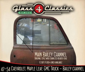 1947-1954 Chevrolet Pickup Truck (Australian body) Bailey Channel