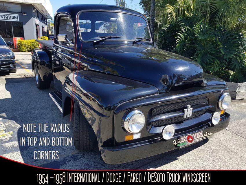 1954-1958 International Truck AR Series Windscreen.