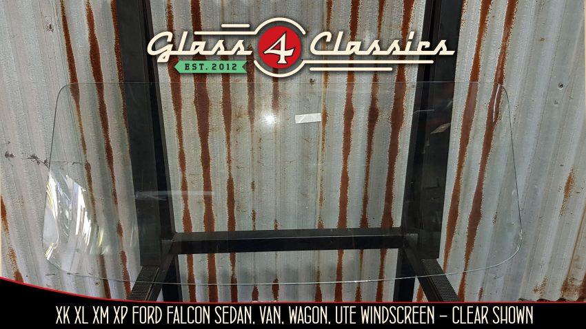 XK XL XM XP Ford Falcon sedan, ute, van, wagon Clear windscreen, glass 4 classics
