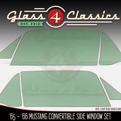 1964 - 1966 Ford Mustang Convertible Side Windows