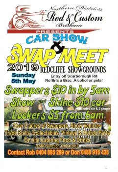 Redcliffe Car Show and Swap Meet 2019